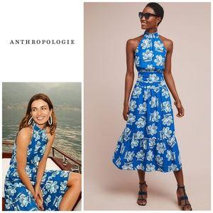 NWT, Anthropologie, Maeve Alyssa Midi Skirt